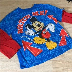 Disney Mickey Mouse Watch Me Top